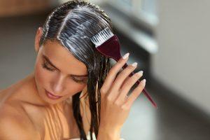 自宅でのヘアカラー