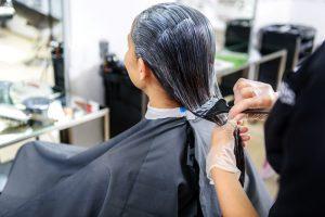 美容室のヘアカラー